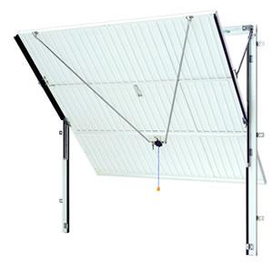 Canopy Door with steel frame