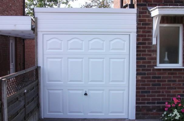 Cathedral Style Garage Door