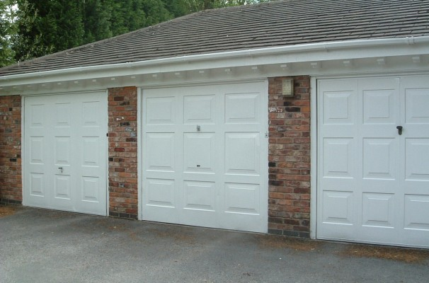 Georgian style Garage Doors