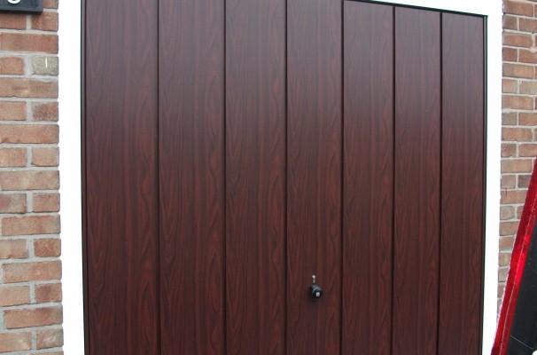 Steel Decograin Door