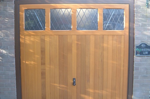 Sandhurst timber garage door