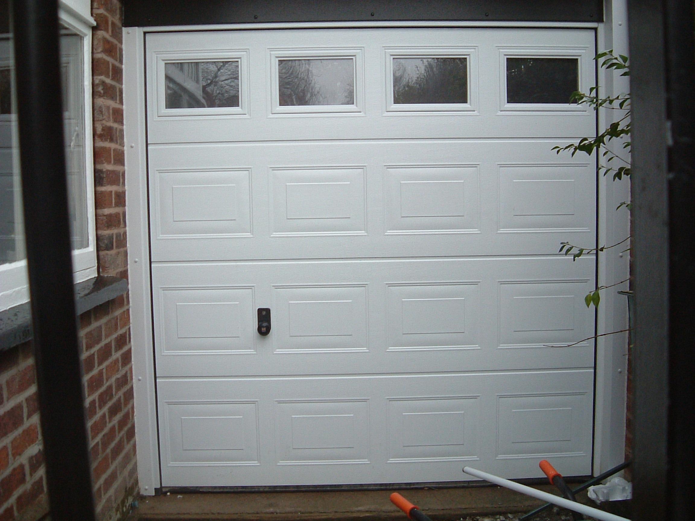 2491 hyde carrington doors for Insulated garage doors