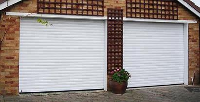 Rollmatic Roller Shutters in white