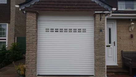 Rollmatic Roller Shutter with windows