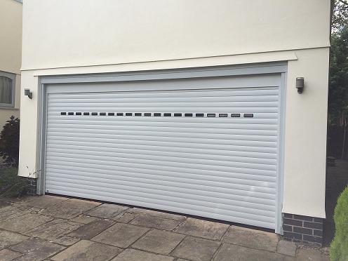 Rollmatic With Windows Carrington Doors